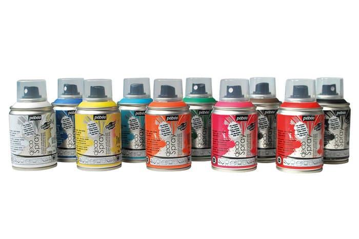 bombes peinture aerosol